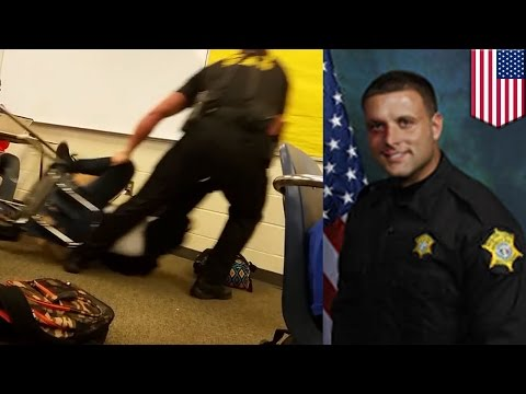 Classroom cop fired: deputy who body-slammed teen has alleged history of misconduct - TomoNews