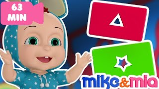 Baby Learns Shapes | Shape Song | Videos for Babies