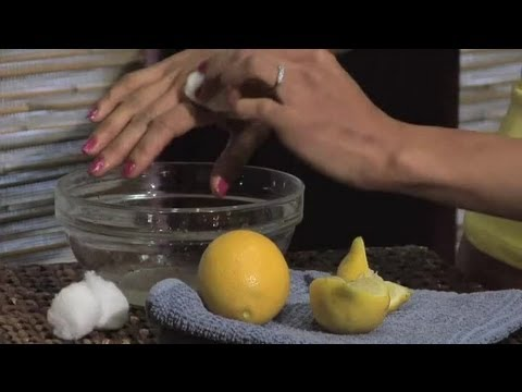 How to Apply Lemon Juice on Skin : Skin Care Advice