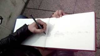 Drawing Mosque-Cathedral-Cordoba-Spain_1/4.MPG