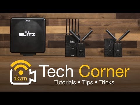 The Blitz Wireless Video Transmitter and Receiver Kits | Ikan Tech Corner