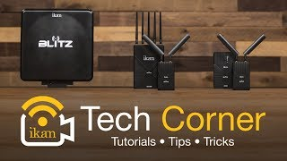 The Blitz Wireless Video Transmitter and Receiver Kits | Ikan Tech Corner