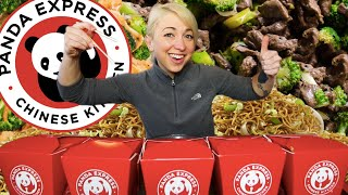 THE PANDA EXPRESS FAMILY FEAST CHALLENGE