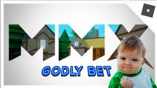 GODLY BETTING FOR BOLT! | Roblox MMX