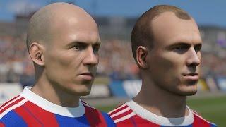 FIFA 15 vs PES 2015 Head to Head Faces - Bayern Munich