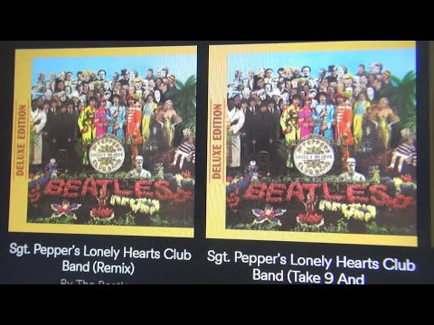The Beatles  Sgt. Pepper Remixes On Spotify  - The Beatles Anthology
