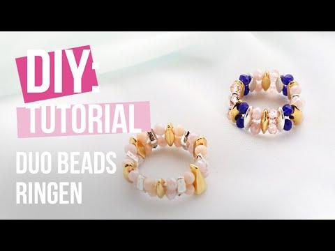 Sieraden maken: Ringen maken met Duo Beads ♡ DIY