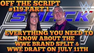 everything you need to know about the wwe draft wwe brand split wwe off the script 119 part 1