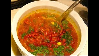 Rajma Curry | Red Kidney Beans Curry | Rajmah Masala Recipe