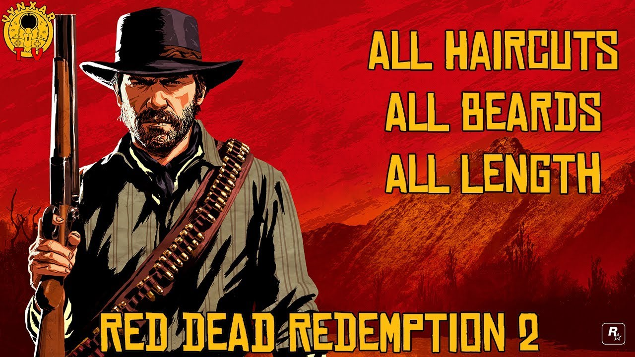 Arthur Man Beard Level Max Red Dead Redemption 2