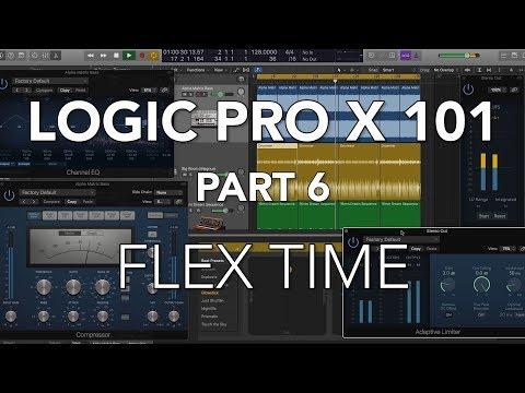 LOGIC PRO X 101 - #06 Flex Time