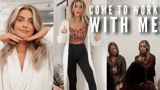 VLOG - Come To Work With Me   Fashion Influx