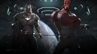 injustice 2 Batman V Hellboy