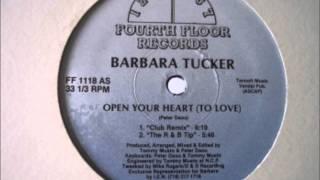 Barbara Tucker   Open Your Heart To Love