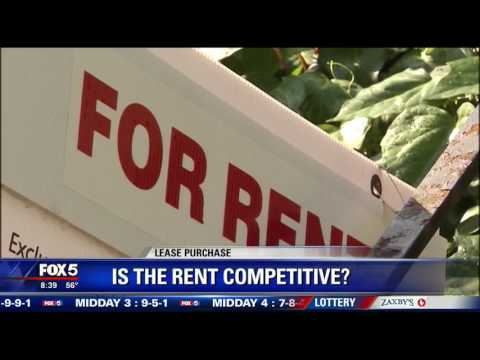 'Lease purchase' as a way to buy your next home