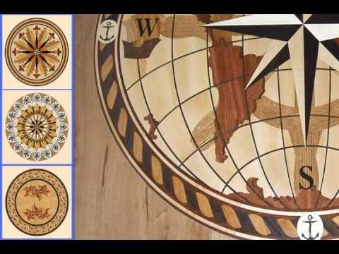 Hardwood Flooring Medallions Designs Youtube