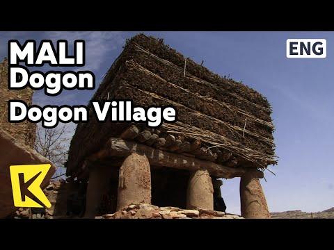 【K】Mali Travel-Dogon[말리 여행-도곤]도곤족 마을, 토구나 회관/Dogon Village/Toguna/Cliff of Bandiagara/Meeting Hall