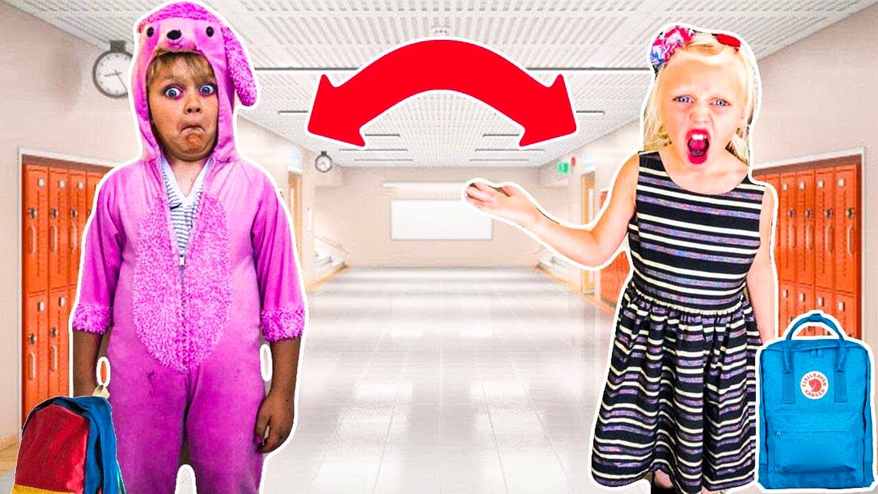 Letting my SiBLING Pick out my FIRST DAY of School OUTFIT!! *Bad Idea 8