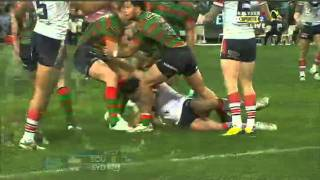 NRL 2011 Round 19 Highlights: Rabbitohs V Roosters