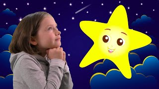 Liza and the sweet song Twinkle Twinkle Little Star | SKORIKI
