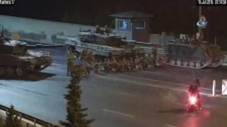 15 Temmuz Şehitler Köprüsünde Hain Darbeci Askerlerin Yeni Görüntüleri