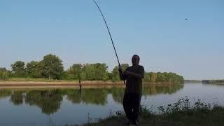 г. Волжский, рыбалка на Ахтубе .