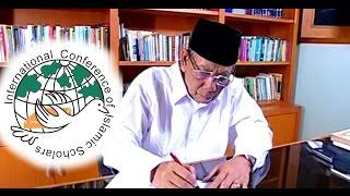 KH . Ahmad Hasyim Muzadi ICIS Part 01
