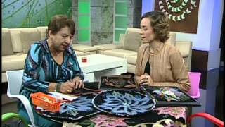 VIDA Y ESTILO TVNL  Esthela Reyes PINTURA TEXTIL 051114