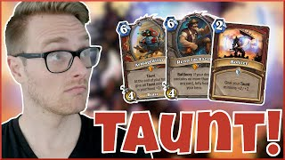 Hearthstone | Bolster is READY for ACTION! | Wild Reno Quest Taunt Warrior | Saviors of Uldum