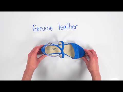Video for Simone Cross Strap Wedge Sandal this will open in a new window