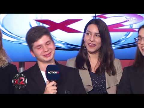 CHARISMATIC GREEK STUDENT ENTREPRENEUR AT ACTION 24 TV