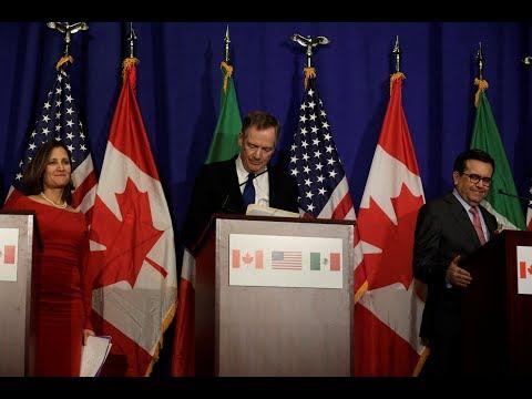 NAFTA renegotiations hit impasse, raising doubts about its future