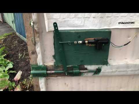 Автоматический замок на ворота с сигнализацией своими руками
