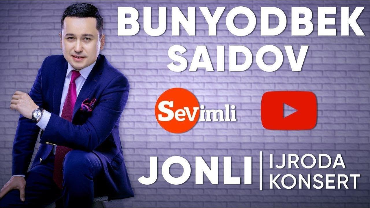 BUNYODBEK SAIDOV XORAZMDAN LIVE KONSERT 2020
