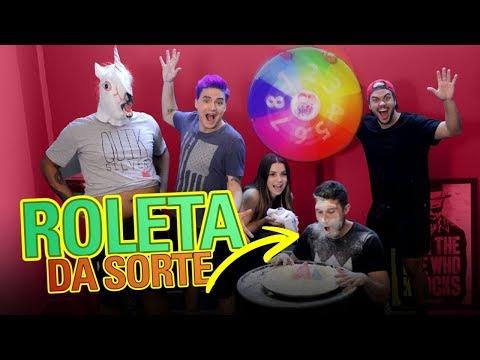 DESAFIO DA ROLETA SURPRESA DA FAMÍLIA NETO!