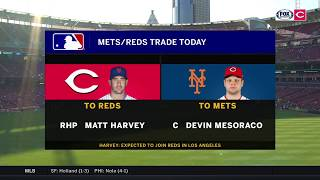 Mets trade Matt Harvey to Reds: Thom Brennaman & Jeff Brantley discuss the deal