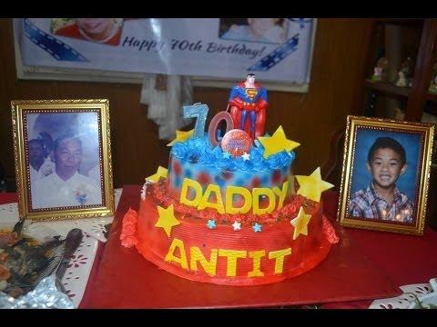 DADDY ANTIT's 70th BIRTHDAY