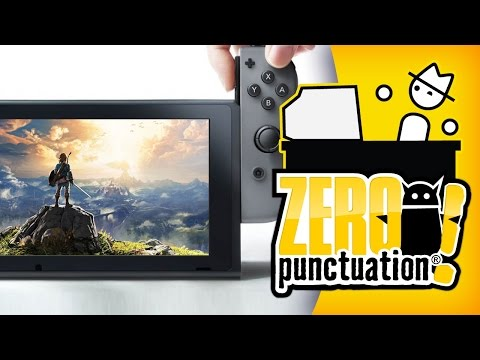 Nintendo Switch & Legend of Zelda Breath of the Wild (Zero Punctuation)