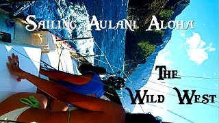 Sailing the Wild West S/V Aulani Aloha, Ocean Odyssey Ep.1, Solo across Pacific West Coast
