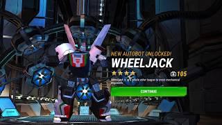 TRANSFORMERS: Earth Wars - Opening 20 Wheeljack Crystals