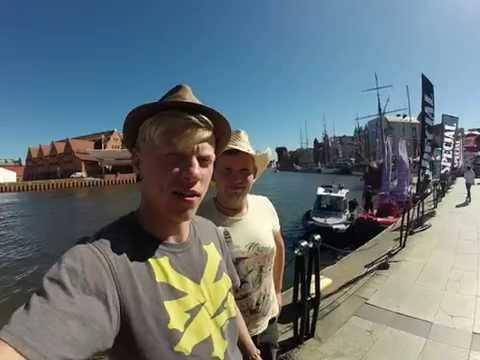 Atvykome į Gdanską, Lenkiją