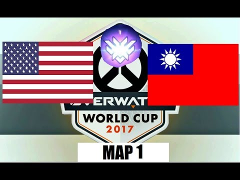 Breakdown and Analysis | USA vs Chinese Taipei | Overwatch World Cup Qualifiers | Map 1 Hollywood