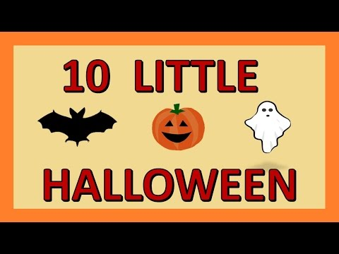 10 Little Pumpkins  Halloween themed counting  Numbers 1 to 10