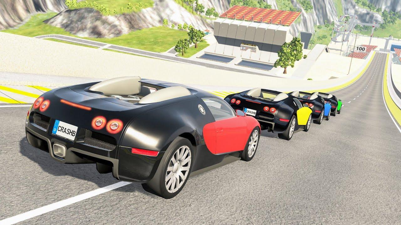 Epic High Speed Car Jumps #143 – BeamNG Drive | CrashBoomPunk