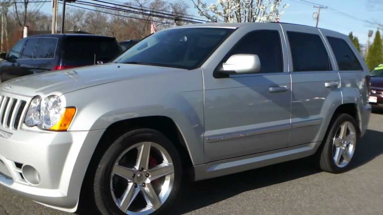Superb 2010 Jeep Grand Cherokee SRT8 For Sale~Navigation~Kicker II Sound   YouTube