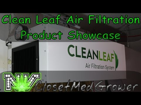 Clean Leaf Air Filtration Systems Product Showcase