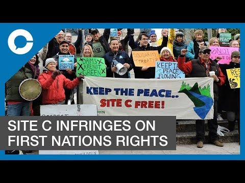 Eion Finn, Gordon Christie  : Site C Infringes on First Nation's Rights in Canada