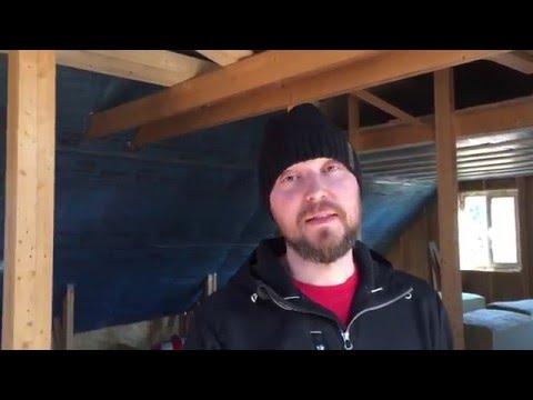 видео: Как утеплить мансарду мин ватой? Видео с реального объекта с пояснениями.