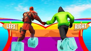 Testing My FRIENDSHIP In FORTNITE! (Friendship Deathrun)