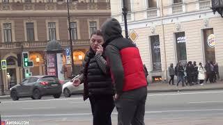 СТОЯК НА ВСЕХ ПРАНК Реакция Девушек и Парней/Вызывают полицию